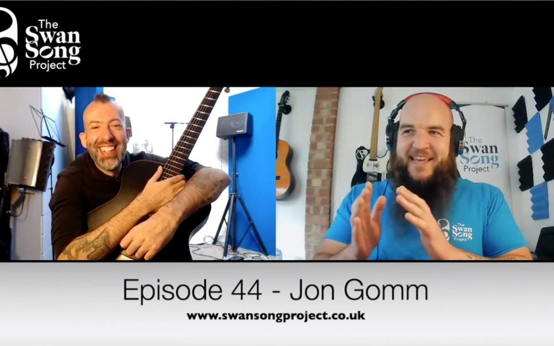 Episode 44 – Jon Gomm