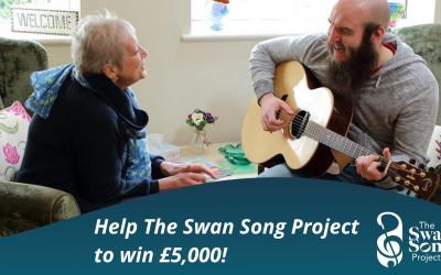 Help Swan Song win £5,000!