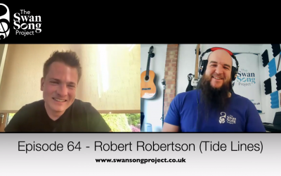 Swan Song Podcast #64 – Robert Robertson (Tide Lines)